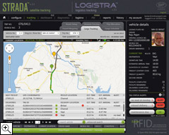 Logistra Software for Cargo Tracking