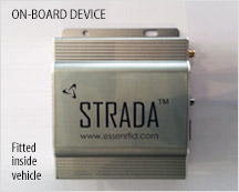 Strada – Vehicle fitted device for Vehicle Tracking