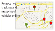 Remote Live Tracking & Mapping of Vehicles Online